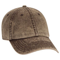 Cotton Twill Low Profile Snow Washed Cap