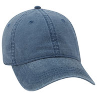 Washed Pigment Dyed Cotton Twill Low Profile Pro Style Caps