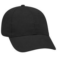 Promo Brushed Bull Denim Low Profile Pro Style Caps