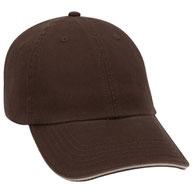 Superior Garment Washed Cotton Twill Sandwich Visor Low Profile Pro Style Caps