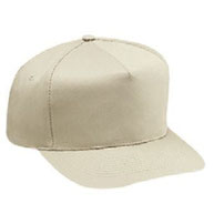 Cotton Twill Five Panel Pro Style Caps