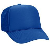 OTTO CAP 5 Panel Mid Profile Mesh Back Trucker Hat