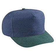 Washed Brushed Heavy Cotton Canvas Low Crown Golf Style Caps