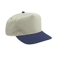Brushed Cotton Twill High Crown Golf Style Caps
