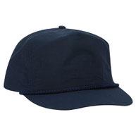 Crinkle Taslon High Crown Golf Style Caps