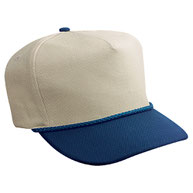 Wool Blend Low Crown Golf Style Caps