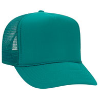 Polyester Foam Front High Crown Golf Style Mesh Back Caps