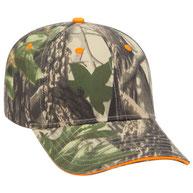 Camouflage Cotton Twill Sandwich Visor  Low Profile Pro Style Cap