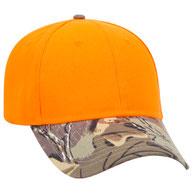 Camouflage Visor Cotton Twill Low Profile Pro Syle Caps