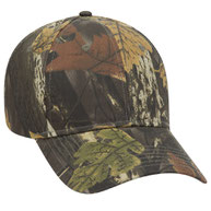 Camouflage Cotton Twill Low Profile Pro Style Caps