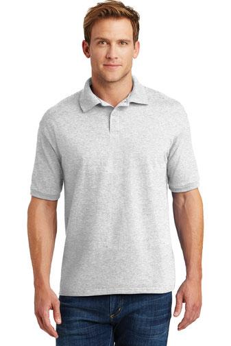 Hanes ®  EcoSmart ®  - 5.2-Ounce Jersey Knit Sport Shirt. 054X