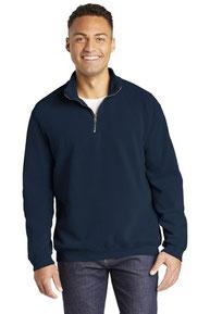 COMFORT COLORS  ®  Ring Spun 1/4-Zip Sweatshirt. 1580
