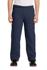 Gildan ®  Youth Heavy Blend ™  Open Bottom Sweatpant. 18400B