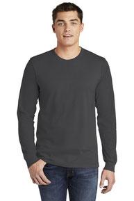 American Apparel  ®  Fine Jersey Long Sleeve T-Shirt. 2007W