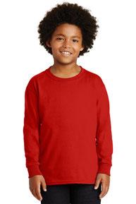Gildan ®  - Youth Ultra Cotton ®  Long Sleeve T-Shirt.  2400B