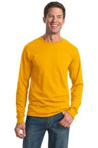 JERZEES ®  - Dri-Power ®  Active 50/50 Cotton/Poly Long Sleeve T-Shirt.  29LS