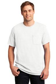 JERZEES ®  -  Dri-Power ®  Active 50/50 Cotton/Poly Pocket T-Shirt.  29MP