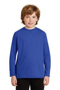 Gildan ®  Youth Gildan Performance ®  Long Sleeve T-Shirt. 42400B