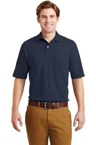 JERZEES ®  -SpotShield ™  5.6-Ounce Jersey Knit Sport Shirt with Pocket. 436MP