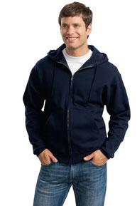 JERZEES ®  Super Sweats ®  NuBlend ®  - Full-Zip Hooded Sweatshirt.  4999M