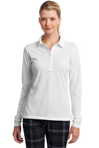 Nike Ladies Long Sleeve Dri-FIT Stretch Tech Polo. 545322