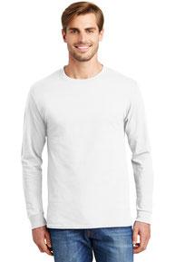 Hanes ®  - Tagless ®  100% Cotton Long Sleeve T-Shirt.  5586