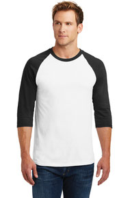 Gildan ®  Heavy Cotton ™  3/4-Sleeve Raglan T-Shirt. 5700
