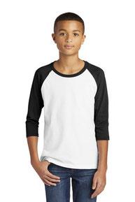 Gildan  ®  Heavy Cotton  ™  Youth 3/4-Sleeve Raglan T-Shirt. 5700B