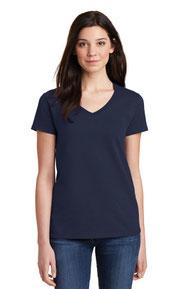 Gildan ®  Ladies Heavy Cotton ™  100% Cotton V-Neck T-Shirt. 5V00L