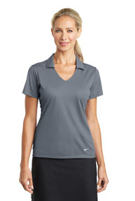 Nike Ladies Dri-FIT Vertical Mesh Polo. 637165
