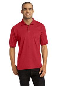 Gildan ®  DryBlend ®  6-Ounce Jersey Knit Sport Shirt with Pocket. 8900