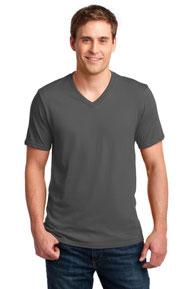 Anvil ®  100% Combed Ring Spun Cotton V-Neck T-Shirt. 982