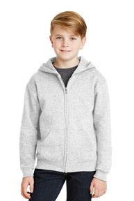 JERZEES ®  - Youth NuBlend ®  Full-Zip Hooded Sweatshirt.  993B