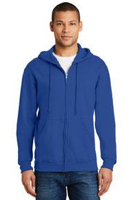 JERZEES ®  - NuBlend ®  Full-Zip Hooded Sweatshirt.  993M