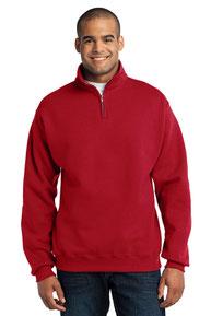 JERZEES ®  - NuBlend ®  1/4-Zip Cadet Collar Sweatshirt. 995M