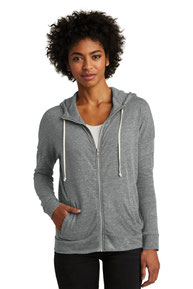 Alternative Women's Eco-Jersey ™  Cool-Down Zip Hoodie. AA2896