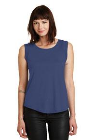 Alternative Women's Cap Sleeve Satin Jersey Crew T-Shirt. AA4013