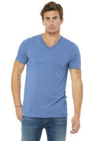 BELLA+CANVAS  ®  Unisex Triblend Short Sleeve V-Neck Te. BC3415