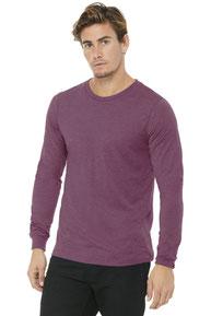 BELLA+CANVAS  ®  Unisex Jersey Long Sleeve Tee. BC3501
