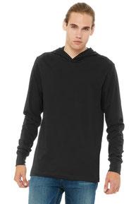 BELLA+CANVAS  ®  Unisex Jersey Long Sleeve Hoodie. BC3512