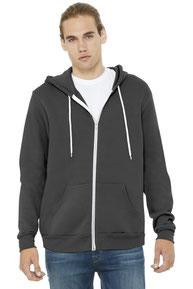 BELLA+CANVAS  ®  Unisex Sponge Fleece Full-Zip Hoodie. BC3739