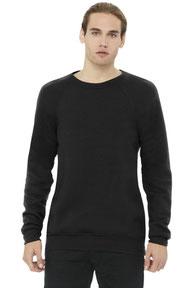 BELLA+CANVAS  ®  Unisex Sponge Fleece Raglan Sweatshirt. BC3901