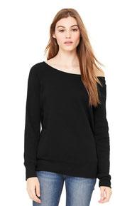 BELLA+CANVAS  ®  Women's Sponge Fleece Wide-Neck Sweatshirt. BC7501