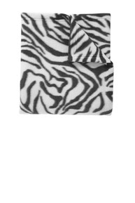 DISCONTINUED  Port Authority ®  Core Printed Fleece Blanket. BP61