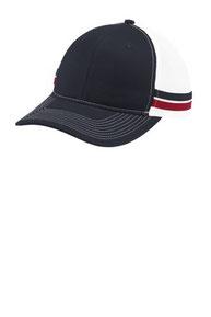 Port Authority  ®  Two-Stripe Snapback Trucker Cap. C113
