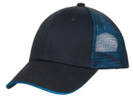 Port Authority ®  Double Mesh Snapback Sandwich Bill Cap. C818