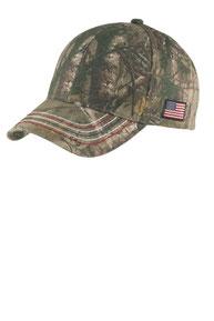 Port Authority ®  Americana Contrast Stitch Camouflage Cap. C909