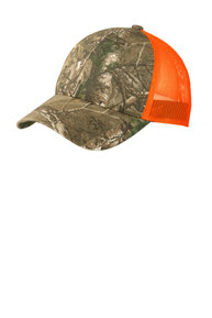 Port Authority ®  Structured Camouflage Mesh Back Cap. C930