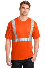 CornerStone ®  - ANSI 107 Class 2 Safety T-Shirt.  CS401