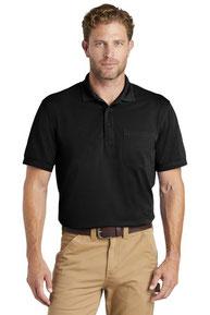 CornerStone  ®  Industrial Snag-Proof Pique Pocket Polo. CS4020P